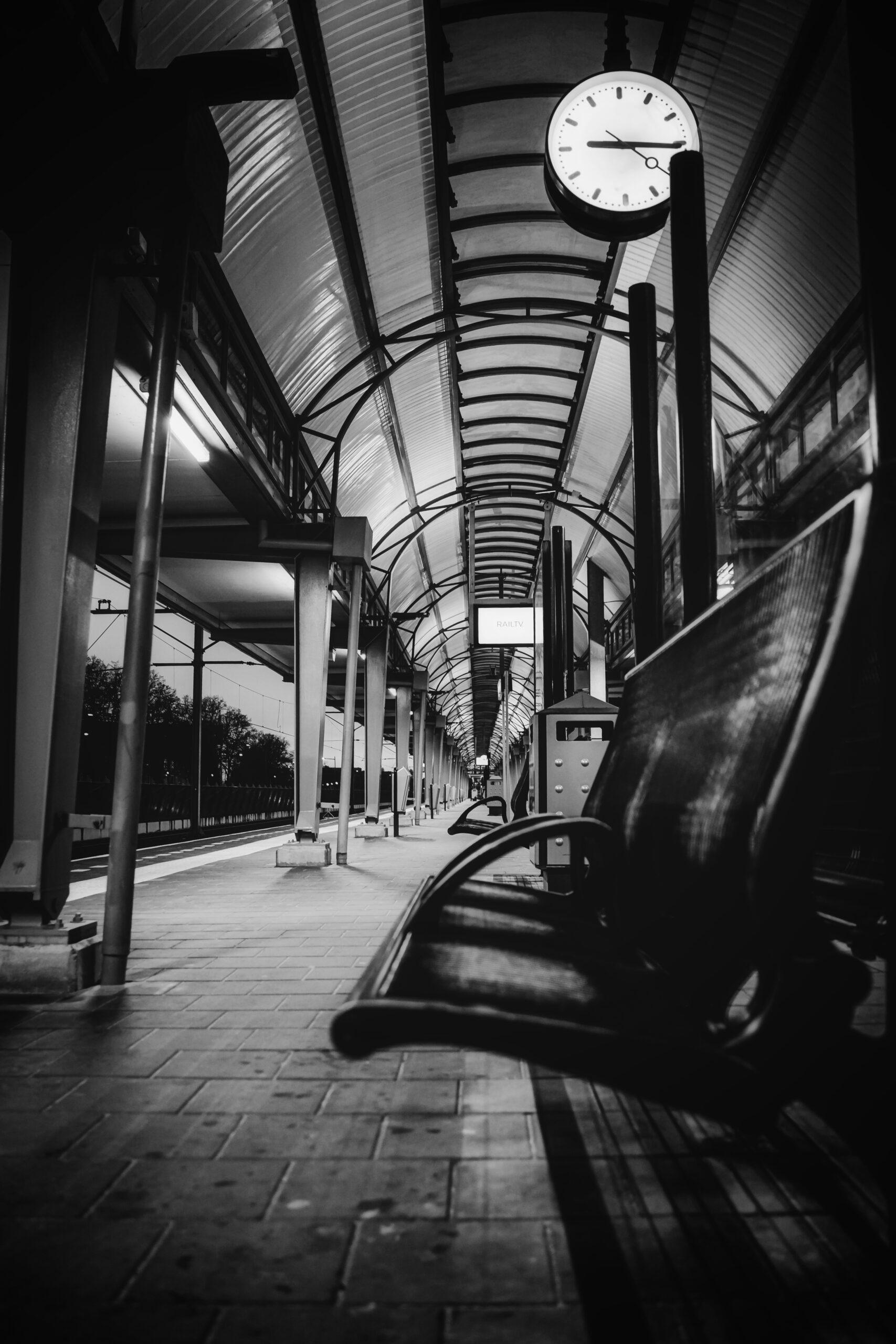 abandoned trainstation
