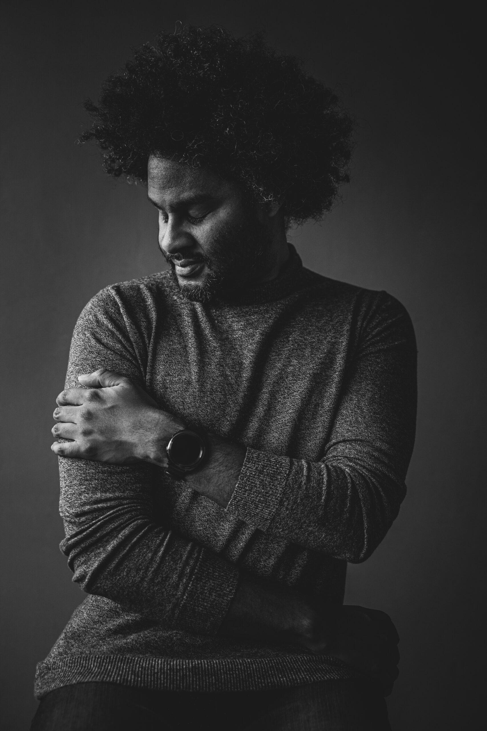 Portret Man door fotograaf uit tilburg
